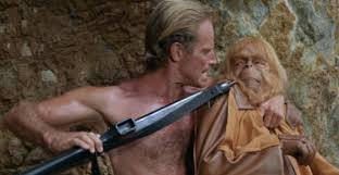 Charlton Heston of the NRA is asked by Dr Zaius to re-read a Charles J judgment