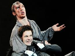 """""""Benedict! HEY Benedict, you bum! What happened to the good clean fight I asked for? That ain't ARM wrestling"""""""