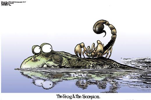 frog-scorpion