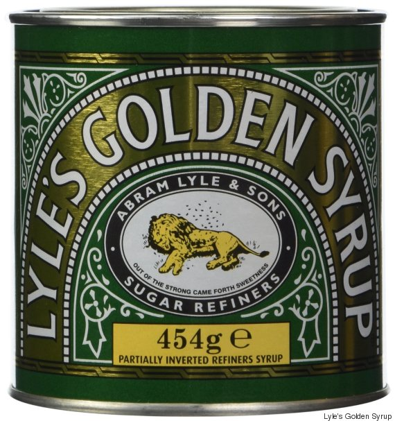 Lyle's Golden Syrup. Now with more bees than you knew about, and 100% more lion corpse